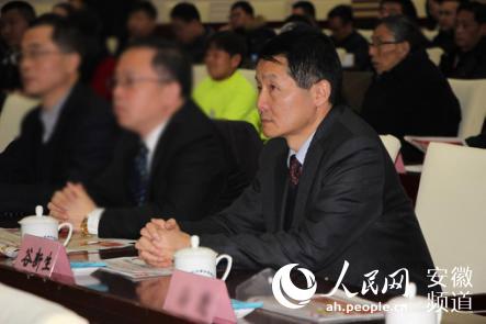 """徽盐金融总经理谷新生荣膺""""合肥十大经济人物""""称号"""