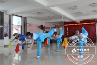 安图县兴华社区成立少林拳武术协会党支部