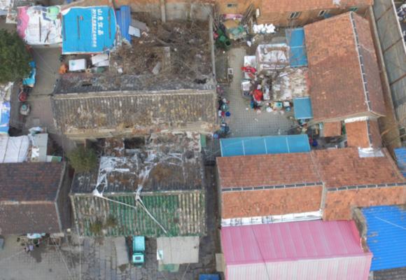 济南648岁督城隍庙沦为出租房 屋顶部分坍塌