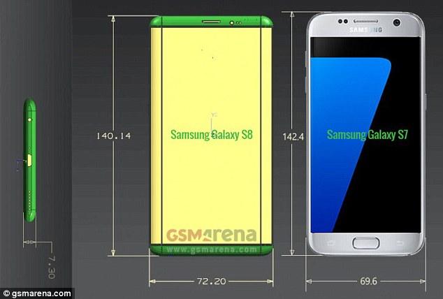 三星Galaxy S8谍照配置曝光 新机可能升级健康应用