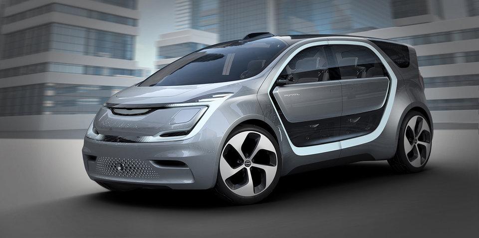 克莱斯勒Portal电动MPV有望2018年后投产