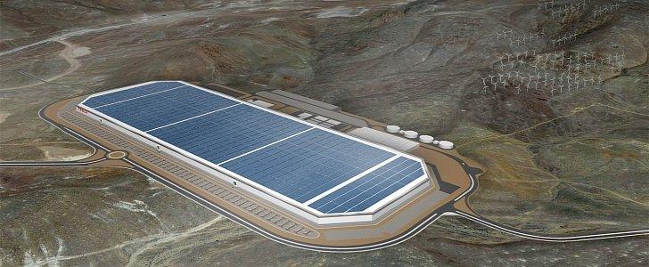特斯拉超级工厂将拥有全球最大屋顶太阳能阵列