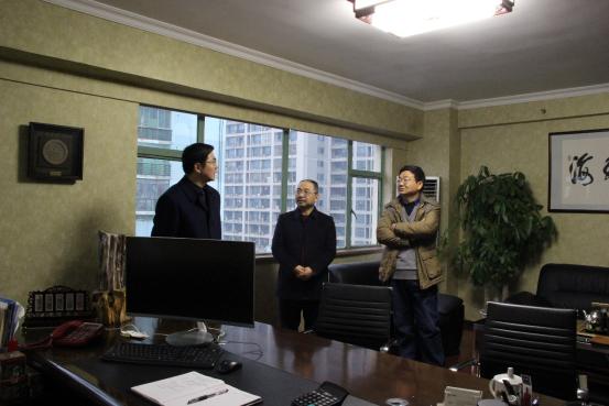 久丰国际迎来湖南省贸促会、湖南国际商会副会长傅丹舟一行视察工作