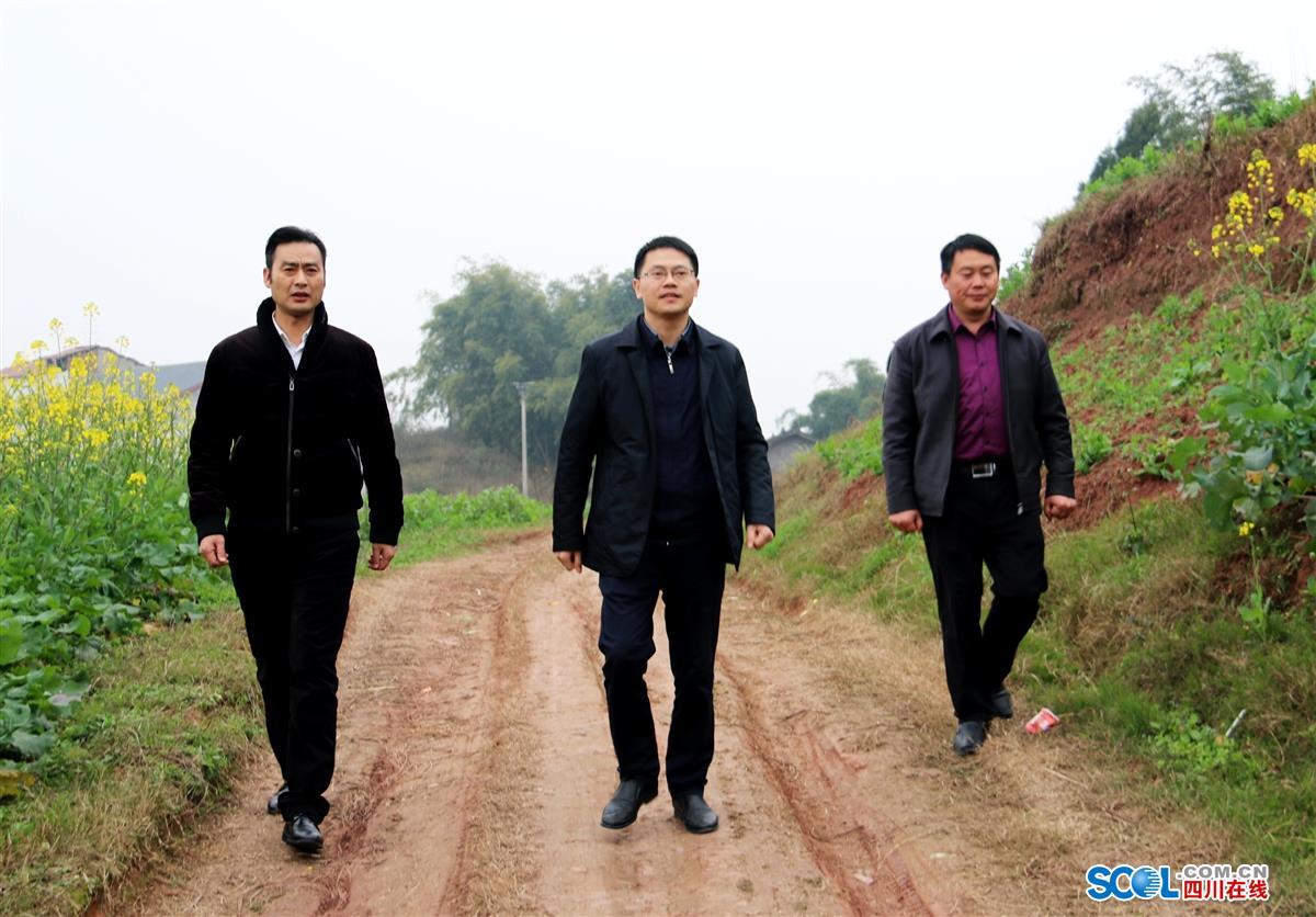 江阳区委常委、纪委书记张程走访慰问困难群众