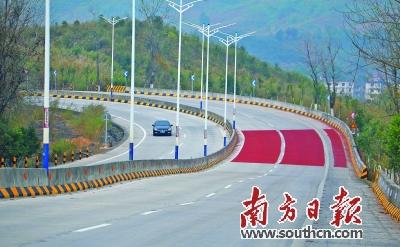 省道S114线连州段带来福气财气人气