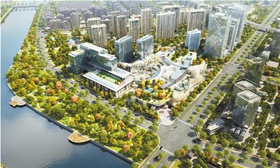 """杭州运河财富小镇:运河岸,不尽""""财富""""滚滚来"""