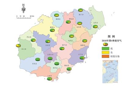 2016年第四季度海南省环境质量公报