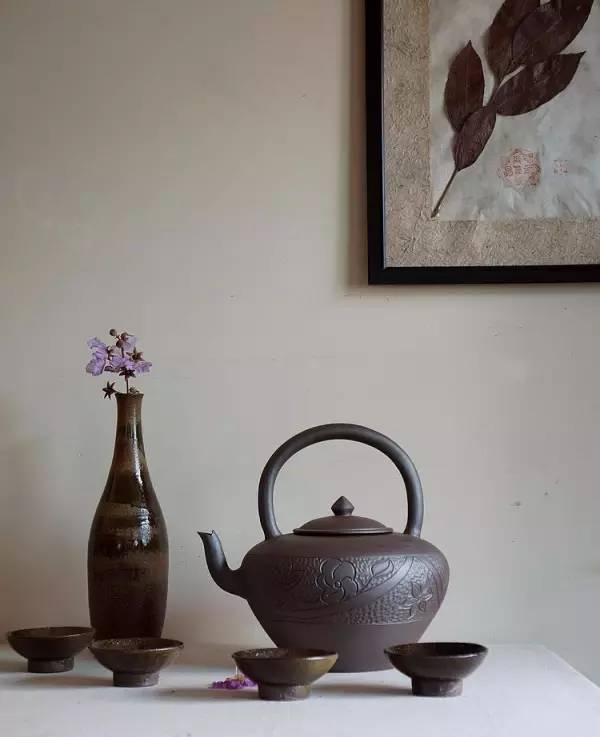 这样的插花才是茶艺的灵魂担当