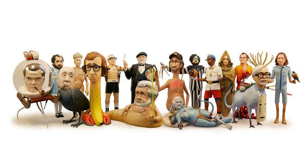 小雕塑里,你看到了多少大师经典?