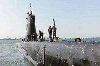 台军71岁高龄潜艇还能出海
