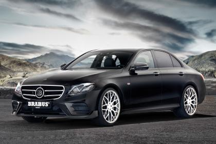 巴博斯改装新奔驰E级轿车发布 性能提升