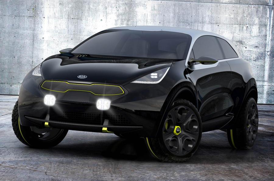 起亚全新小型SUV有望今年发布 剑指日产Juke