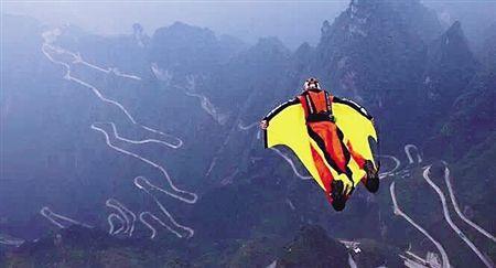 英国翼装飞行高手欲同时挑战4项世界纪录