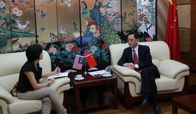 驻槟城总领事吴骏接受《南洋商报》专访
