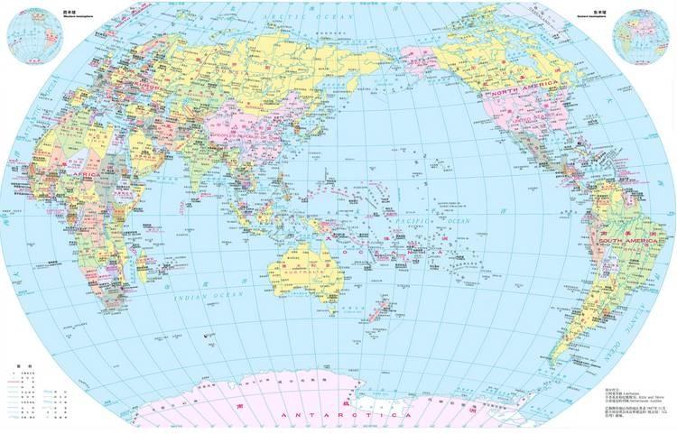 别不信!你真看得懂世界地图吗?原来我们都被骗了好多年