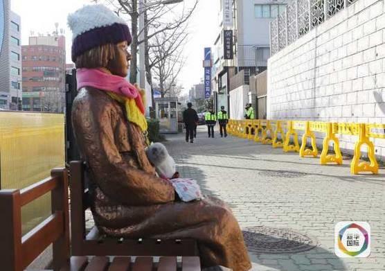 因为一尊少女像,日韩两国又开撕了!