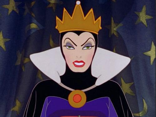 《白雪公主》邪恶皇后 化妆后
