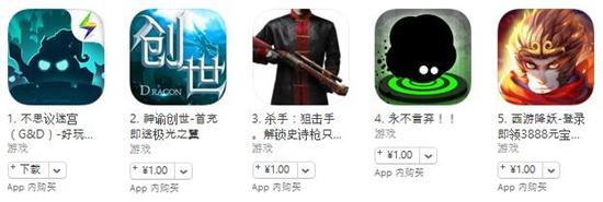 苹果榜单:《仙境传说:守护永恒的爱》进入免费榜前十