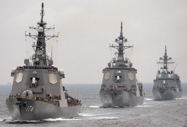 高调介入南海!日欲将二手军备免费送东盟国家