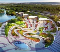 北京地铁环球主题公园站开建