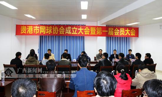 贵港市正式成立网球协会第一届会员大会顺利举行