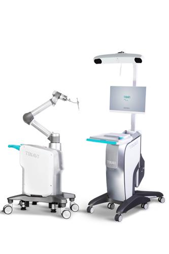 """骨科机器人""""天玑""""出世 技艺超人堪比AlphoGo"""