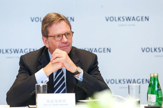 海兹曼详解大众新能源战略 2025年将售150万辆