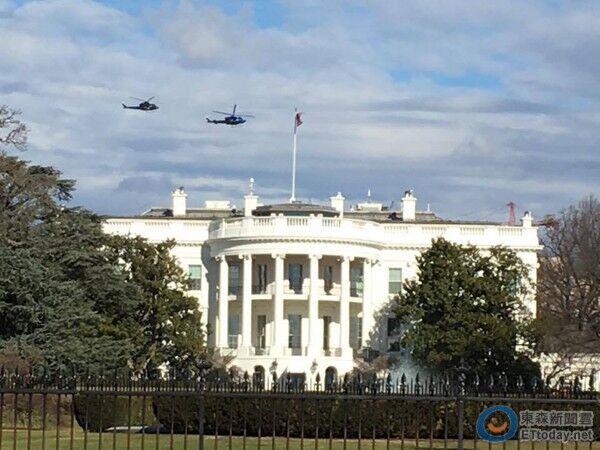 特朗普将上任:90万支持与反对者齐聚 华盛顿成钢铁堡垒