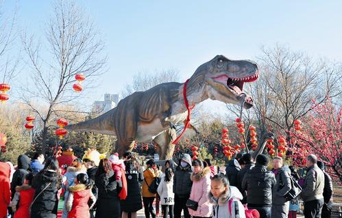 来动物园看恐龙吧 (图)
