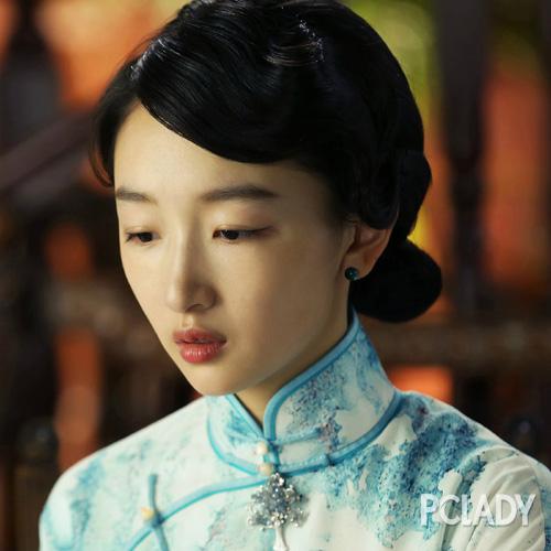 刘诗诗民国发型风情万种 流量小花偏爱手推波纹