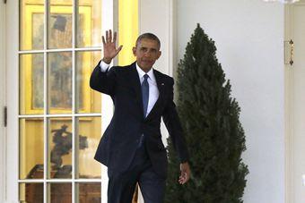 奥巴马挥别白宫 最后一天开始搬新家