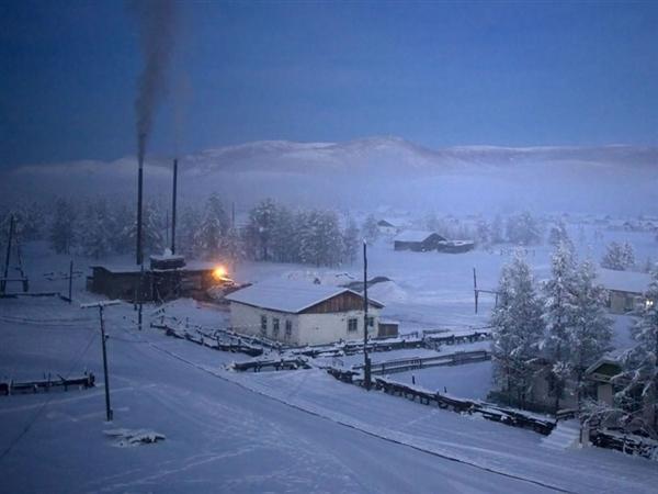 摄影师拍世界最冷村庄 跪了!