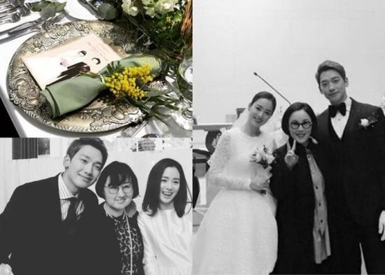 体贴!婚礼结束后的Rain立即陪老婆返娘家_娱乐_环球网