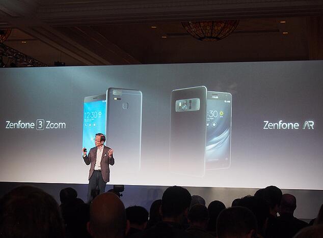 ASUS将发布新型智能手机 目标进入世界市场前十