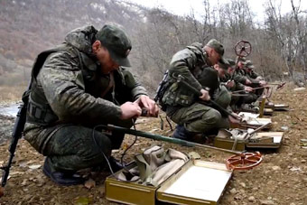 俄罗斯工程兵战斗力也很猛
