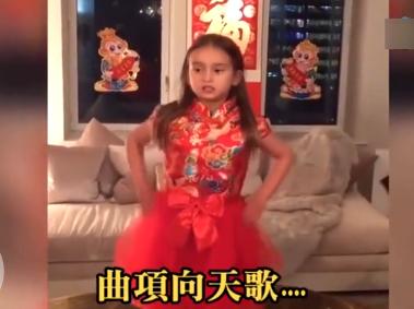"""华媒:特朗普外孙女背唐诗成""""网红""""!"""