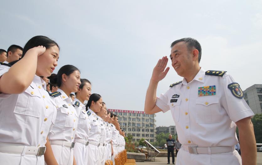中国海军三大舰队集中换帅 海军将领首任战区司令
