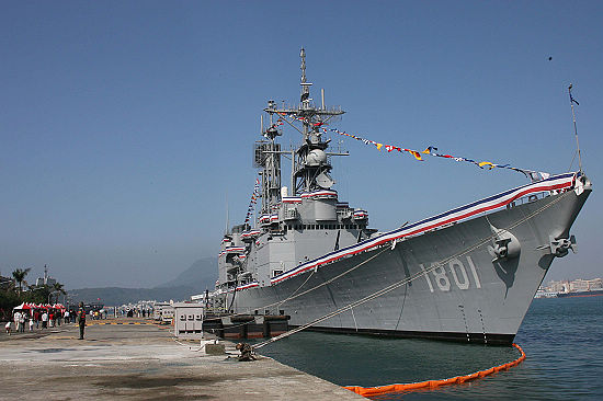 台军舰将与美共享数据链 被指终将遭美国出卖