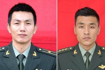 这两名烈士本将成为爸爸和新郎