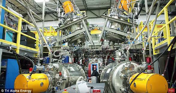 能源取之不尽? 全球首个商业聚变反应堆将亮相