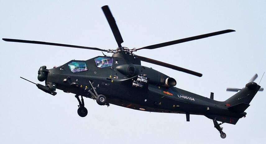 一军用直升机在泉州坠毁 专家:很可能是武直-10