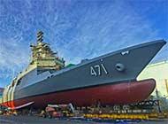 韩国为泰国定制护卫舰将下水