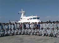中国造巴铁海警船正式交付