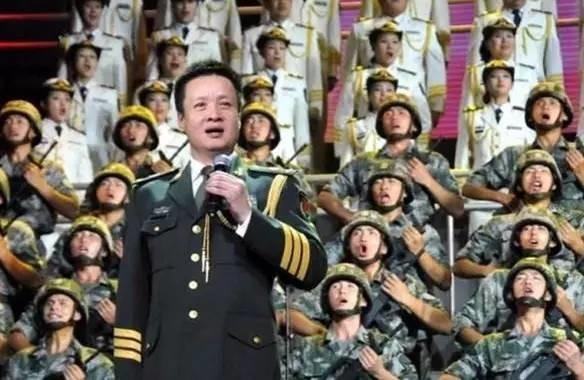 蕾舞团、孙楠、王芳、原总政歌舞团   2015央视春晚   歌曲 :《强军战