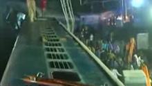 印度一列车脱轨至少32人死亡