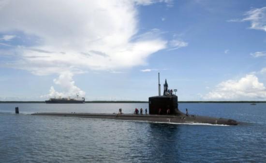 美核潜艇潜伏中国家门口 做了什么事立功获重奖