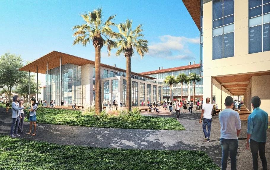 硅谷精英向母校捐献1亿美元建立学科大楼