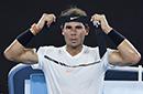 纳达尔焦点战擒孟菲尔斯 与拉奥尼奇争澳网四强
