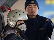 飞豹战机飞行员头盔花纹挺别致