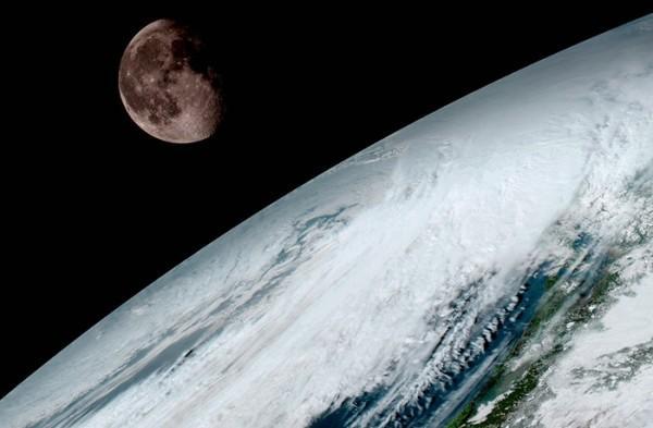 美最强气象卫星GOES-16传出首批高清地球照